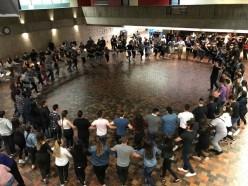 Από τις εμφανίσεις στο Τορόντο του Καναδά στα πλαίσια του 12ου Εκπαιδευτικού Συνεδρίου για τον Ελληνικό Παραδοσιακό Χορό