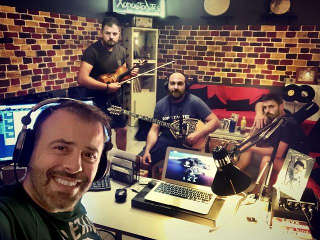 Οι Χοροσταλίτες στα Music Row Studios